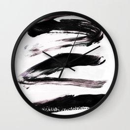 Woven into the Fabric of Your Reality Wall Clock