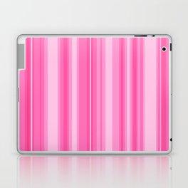 Pink Candy Stripe Laptop & iPad Skin