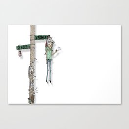 woodward. Canvas Print