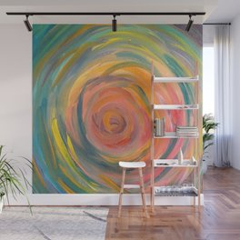 Swirl Abstract  Wall Mural