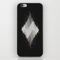 Flocking Mountain Lights iPhone & iPod Skin