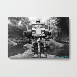 The Man Metal Print