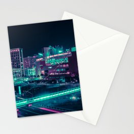 Neon San Diego Stationery Cards