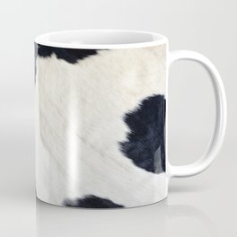 Cowhide Black and White Coffee Mug