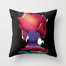 Emotional Abuse Throw Pillow