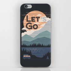 Let's Go iPhone Skin