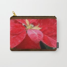 Mottled Red Poinsettia 2 Blank P3F0 Carry-All Pouch