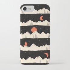 Moonrises...Moonsets... iPhone 7 Slim Case