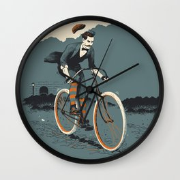 Chapeau! Wall Clock