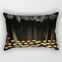 The Teethwriter Rectangular Pillow