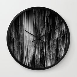 rain drop night Wall Clock