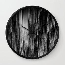 rain drop night Wall Clock