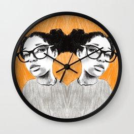 Nice new glasses Wall Clock
