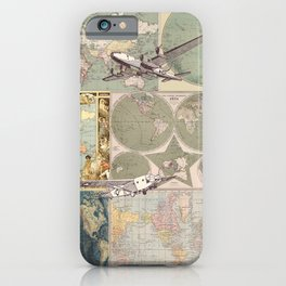 Flight Patterns iPhone Case