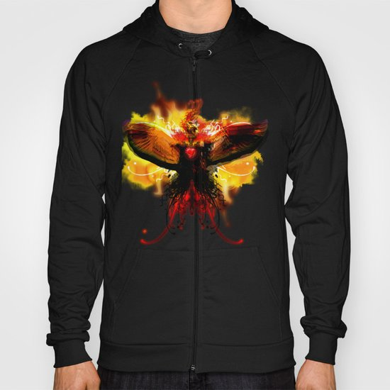 My Love For You Is On Fire Hoody