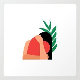 Lovers 1# Art Print