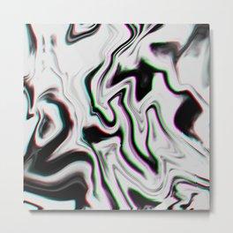 White Breath Metal Print
