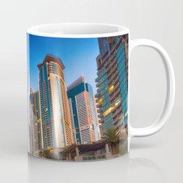 Lights, steel and glass Coffee Mug