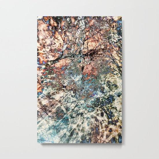 Tangled Tree Metal Print