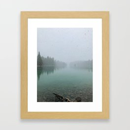 Spring In The Rocky Mountains Framed Art Print