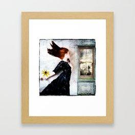 Cold Winds Framed Art Print