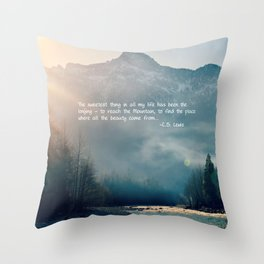 The Sweetest Thing Throw Pillow