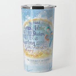 Like a Snow Globe Travel Mug