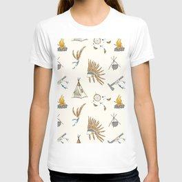 Native American tribal print T-shirt