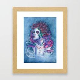 Gaia Of The Deep Framed Art Print