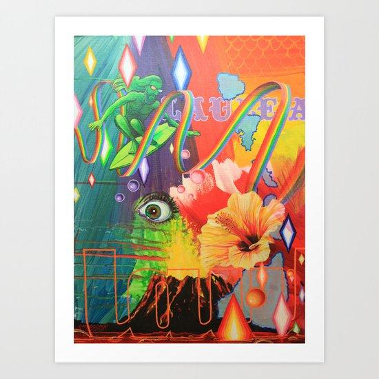Laule'a Art Print