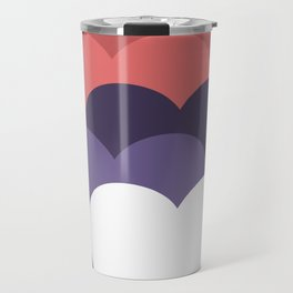 our hearts are not aligned Travel Mug