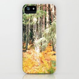 I have a room all to myself; it is nature iPhone Case