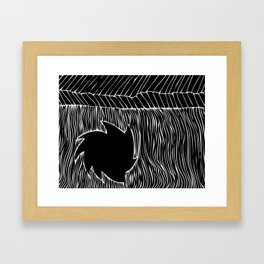 circulating Framed Art Print