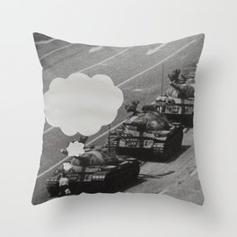What Were You Thinking? 7 Throw Pillow