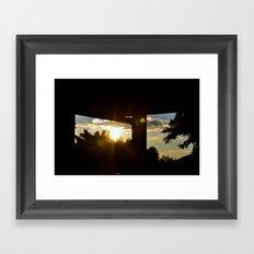 Lighting I Framed Art Print