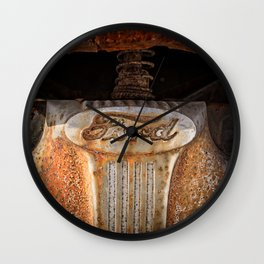 Old Ford Pickup Truck Wall Clock