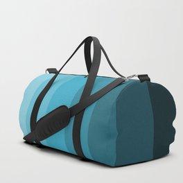 Blue cross fade blue home pattern Duffle Bag