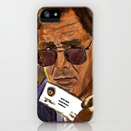 Clear and Present Danger iPhone Case