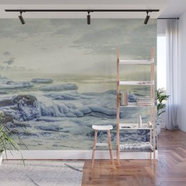 Frozen Sunrise Wall Mural