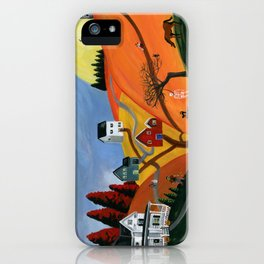 Hilly Haunting iPhone Case