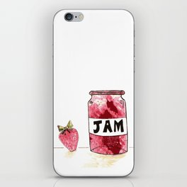 Strawberry VS Jam iPhone Skin