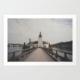 gmunden 3 Art Print