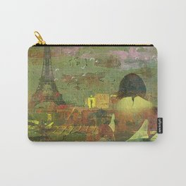 On the roofs of Paris Carry-All Pouch