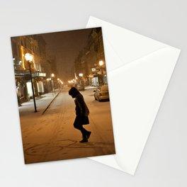 Québec Night Stationery Cards