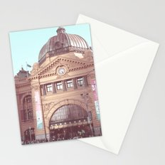 Flinders Street Station, Melbourne, Australia Stationery Cards