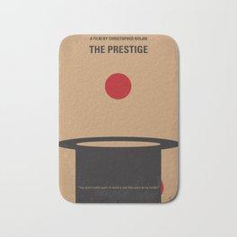 No381 My The Prestige minimal movie poster Bath Mat
