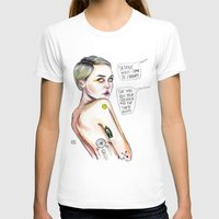 miley T-shirts featuring Satanist miley  by Lucas David
