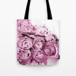 Muted roses Tote Bag
