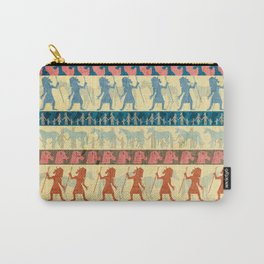 Egyptian Unicorn Pattern Carry-All Pouch
