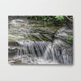 Riverbed after a Rain Metal Print